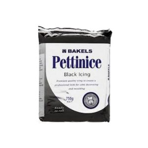 BAKELS Pettinice Black Icing 750g